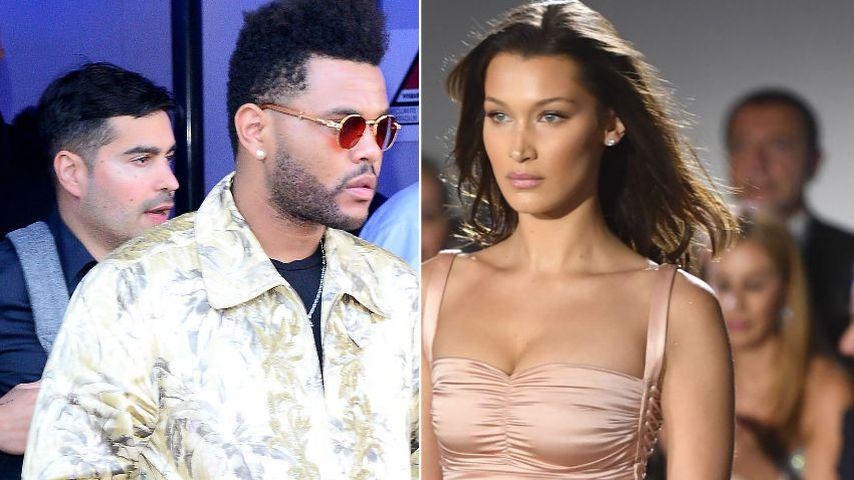 Nach Knutscherei: The Weeknd supportet Bella Hadid bei Show!