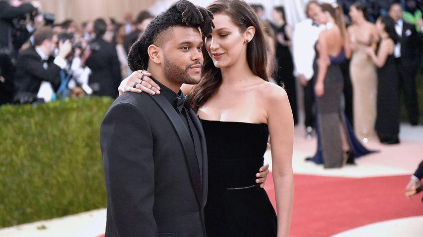 The Weeknd und Bella Hadid bei der Met Gala 2015
