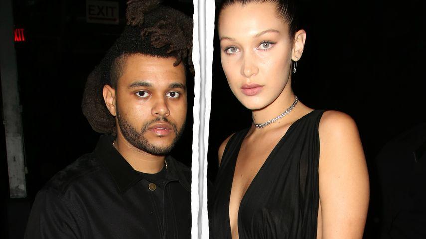 Trennung bei The Weeknd & Bella Hadid: Das sind die Gründe!