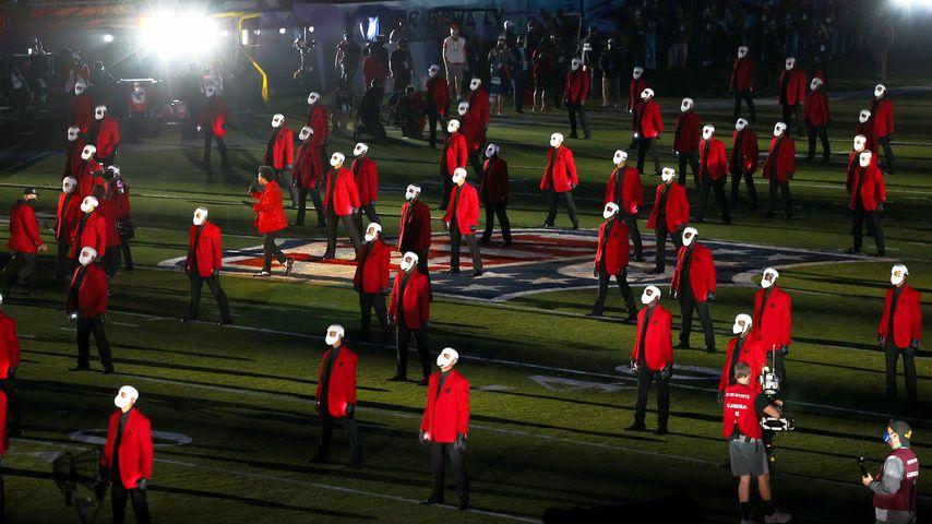 Sänger The Weeknds Super-Bowl-Performance