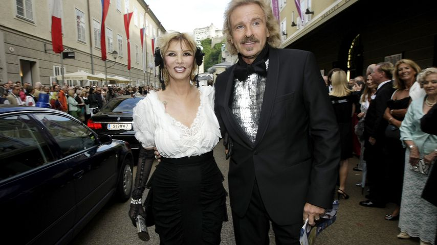 Thea und Thomas Gottschalk bei der Eröffnung des Salzburg Festivals 2009
