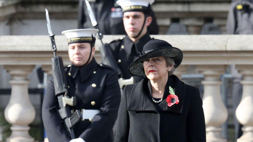 Theresa May zum National Service of Remembrance 2020