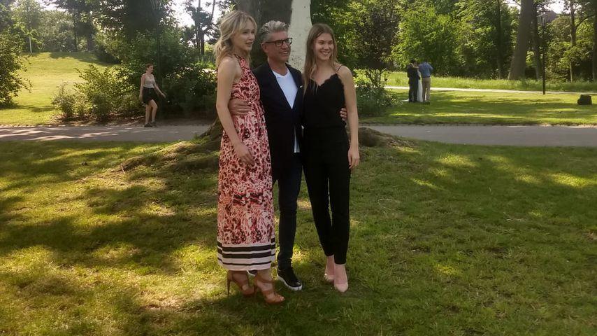 Theresia Fischer, Thomas Behrend und Tatjana Danny in Düsseldorf, Mai 2019