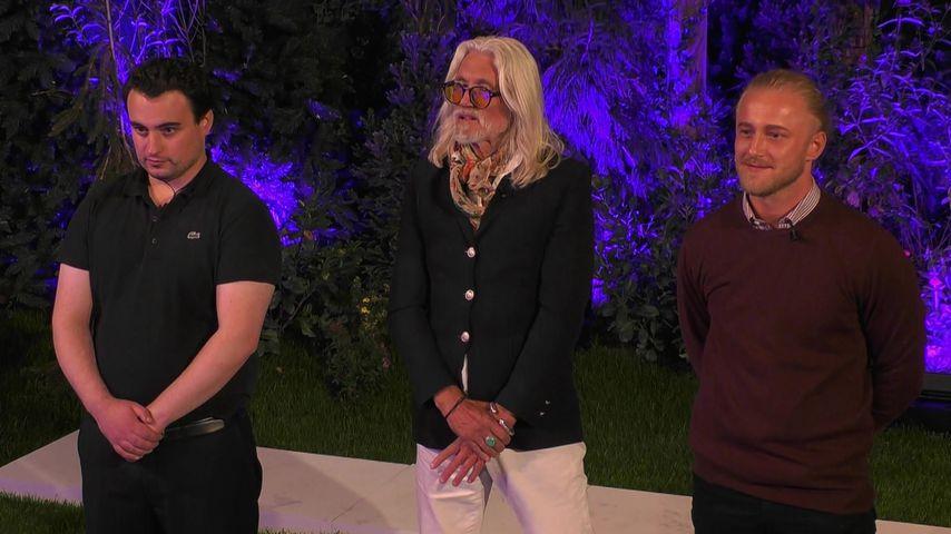 "Thomas, Gerd un Mario, Kandidaten bei ""Claudias House of Love"""