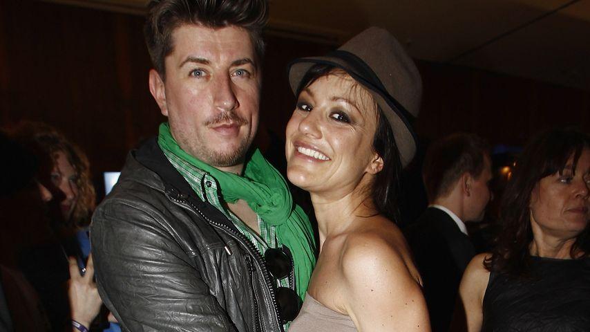 Thomas Hanreich und Miriam Pielhau bei den Echo Awards im Jahr 2012