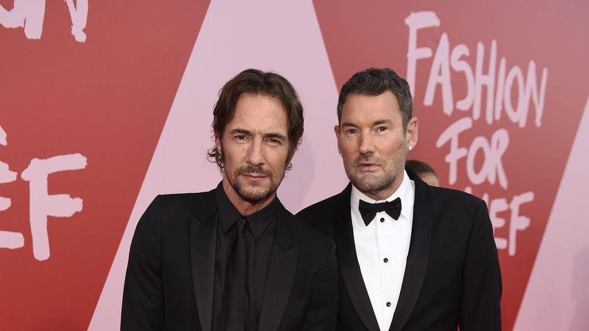 Thomas Hayo und Michael Michalsky beim Film Festival in Cannes