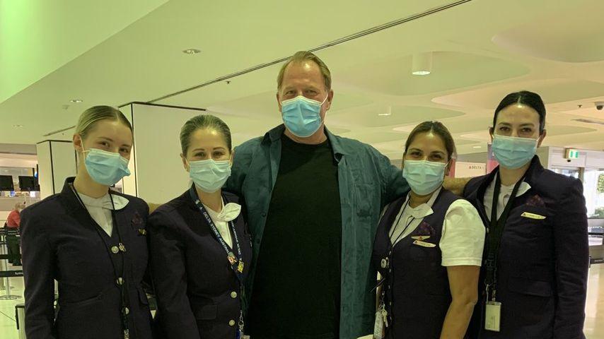 Thomas Markle Jr. am Flughafen in Australien