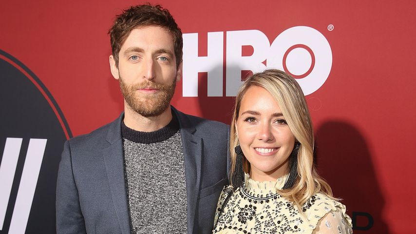 Thomas Middleditch und Mollie Gates