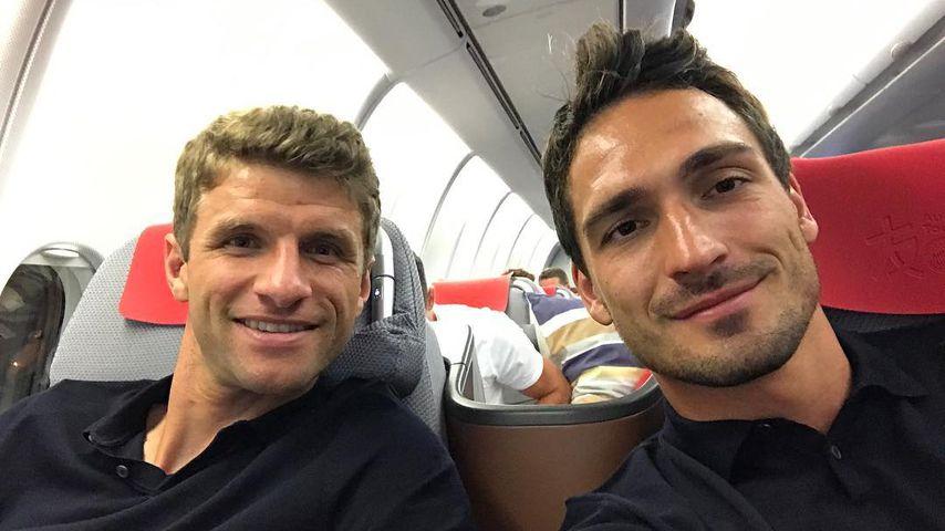 Thomas Müller und Mats Hummels, Fußballer