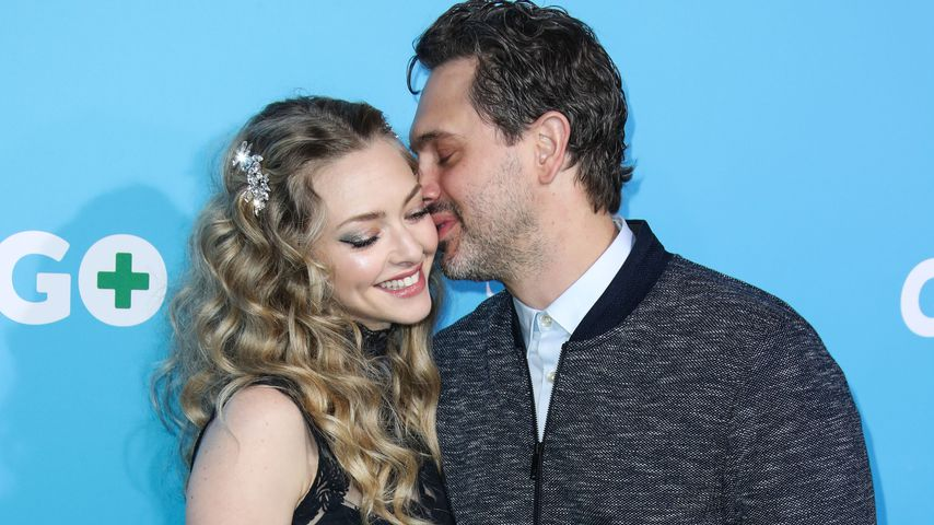 Fummel-Red-Carpet! Amanda Seyfried turtelt mit ihrem Thomas