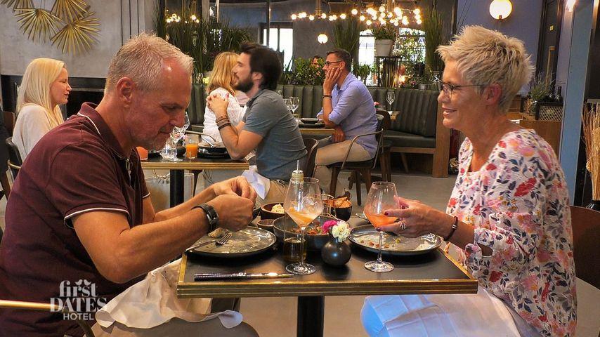 """Thomas und Danielle bei """"First Dates Hotel"""" 2020"""