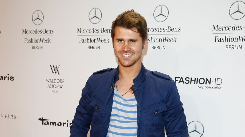 Thore Schölermann bei einer Fashion Week Party in Berlin