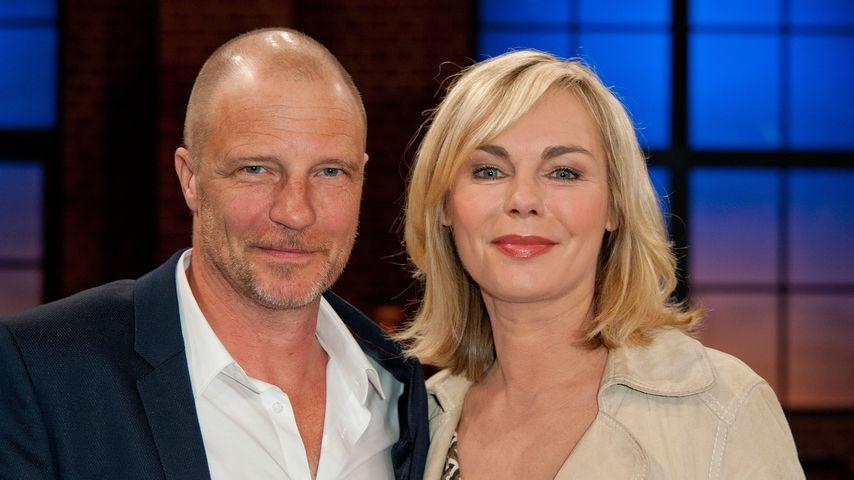 """Thorsten Nindel und Saskia Valencia in der Talkshow """"Kölner Treff"""""""