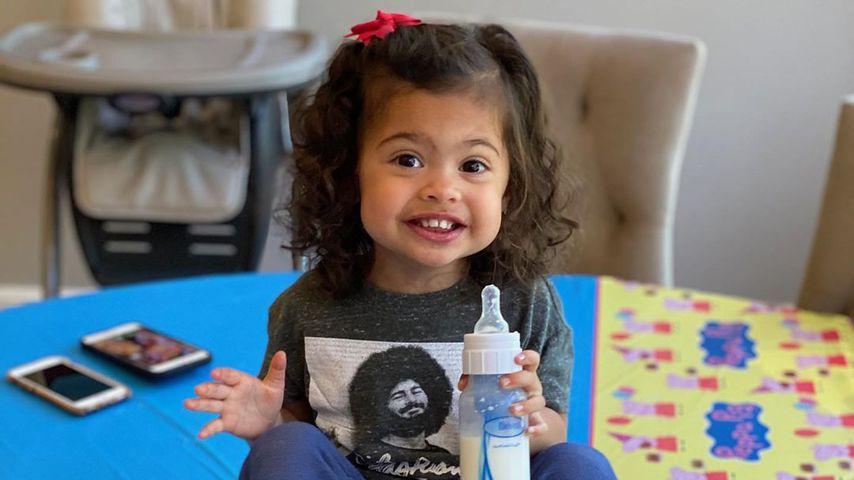 Tiana Gia Johnson, Tochter von Dwayne Johnson, im April 2020