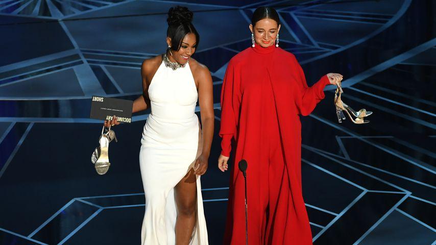 Tiffany Haddish und Maya Rudolph während der Oscar-Verleihung