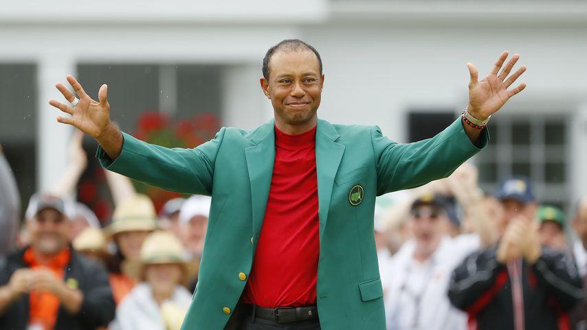 Tiger Woods im April 2019