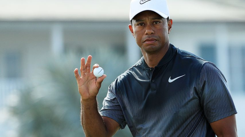 Tiger Woods bei der Hero World Challenge auf den Bahamas im Dezember 2017