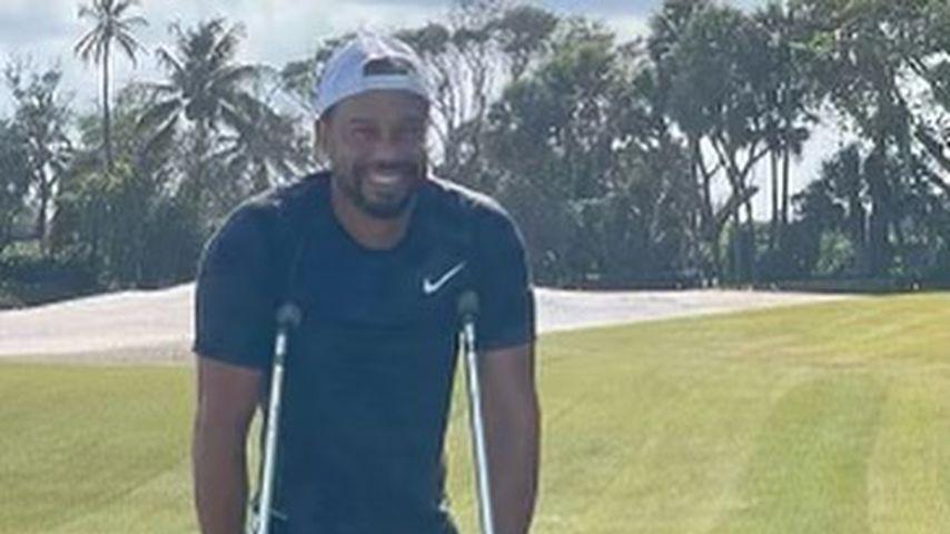 Tiger Woods im April 2021