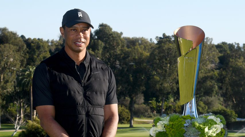 Tiger Woods im Februar 2021 in Pacific Palisades