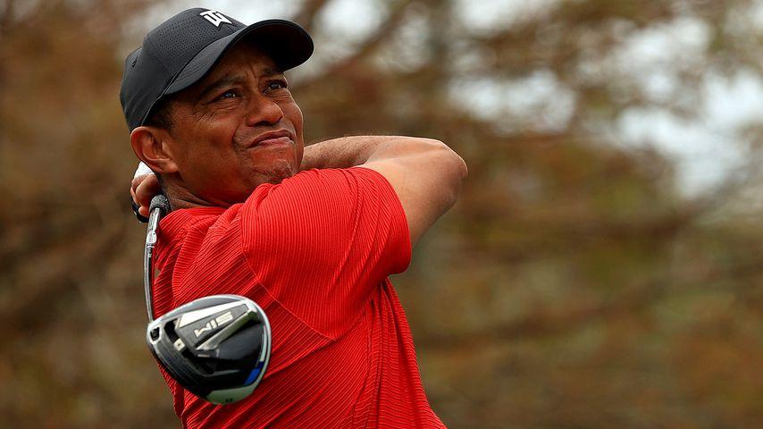 Tiger Woods schaut skeptisch