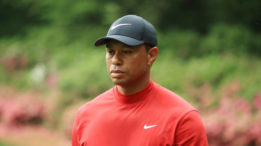 Tiger Woods hatte Autocrash