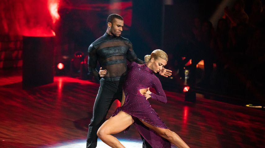 "Tijan Njie und Kathrin Menzinger bei ""Let's Dance"""