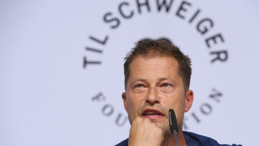 Til Schweiger beim Launch seiner Foundation in Berlin im September 2017