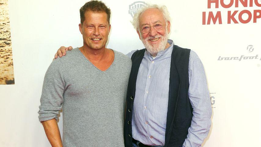 """Til Schweiger und Dieter Hallervorden bei der """"Honig im Kopf""""-Premiere"""