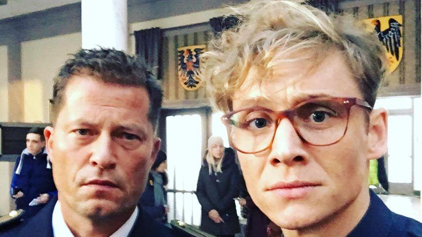 Til Schweiger und Matthias Schweighöfer im November 2016 auf einem Selfie bei Instagram
