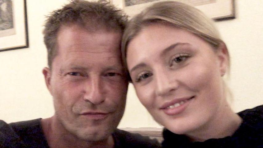 Til Schweiger mit seiner Tochter Luna 2019