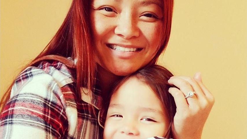 Tila Tequila und ihre Tochter Isabella