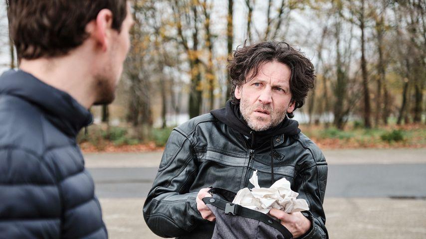 "Till (Constantin Lücke) und Rolf (Stefan Franz) bei ""Unter uns"""