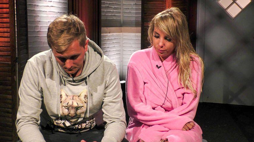 """Tim Sandt und Annemarie Eilfeld im """"Sommerhaus der Stars"""""""