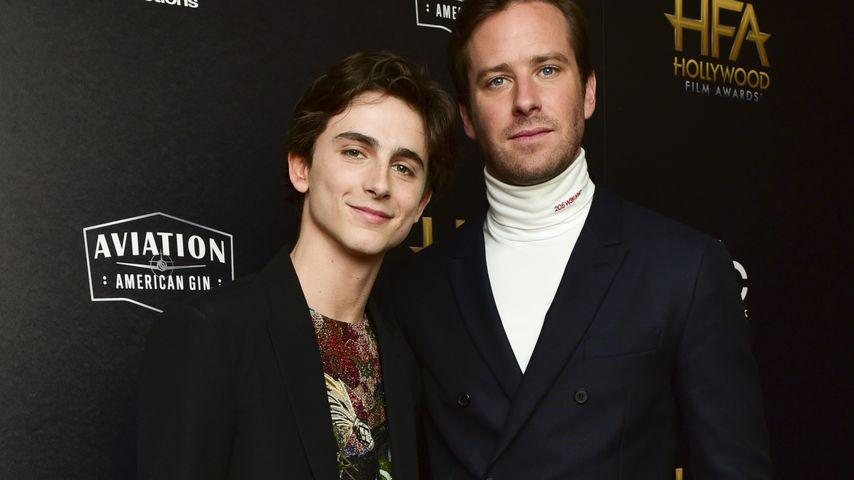 Timothée Chalamet und Armie Hammer bei den 22. Annual Hollywood Film Awards