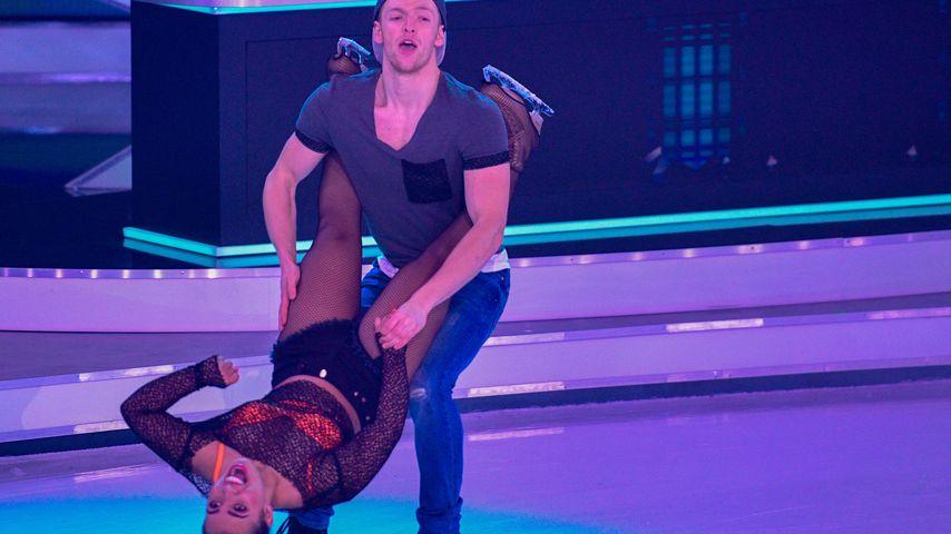 """Timur Bartel und Amani Fancy bei """"Dancing on Ice"""""""