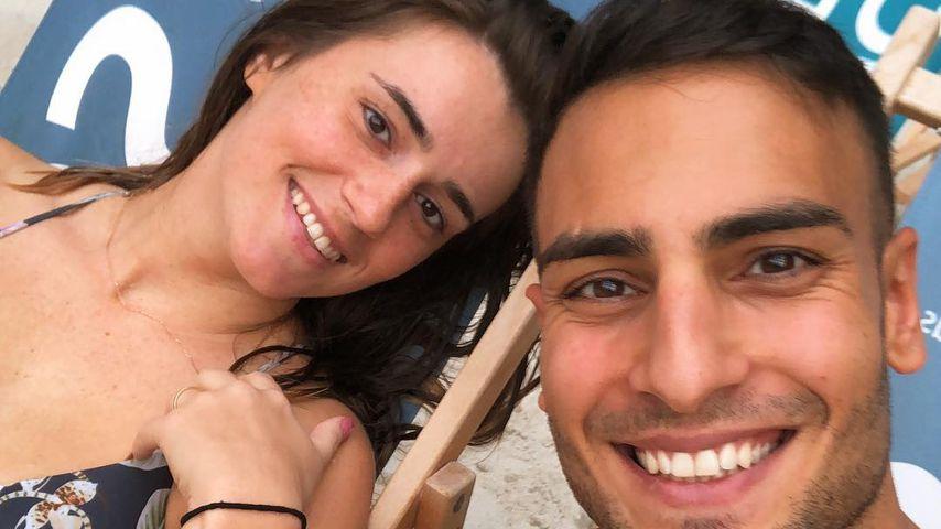 Timur Ülker mit seiner Freundin Caroline