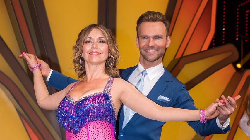 "Tina Ruland und Vadim Garbuzov bei ""Let's Dance"" 2018"