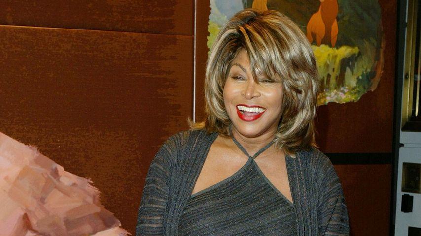 """Tina Turner bei der Premiere von """"Bärenbrüder"""" in 2003"""
