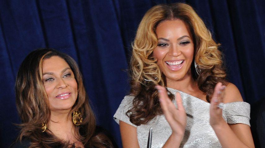 Tina Knowles und ihre Tochter Beyonce
