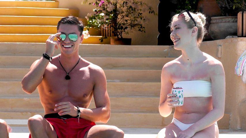 """Tobias Bente und Luisa Krappmann von """"Paradise Hotel"""""""