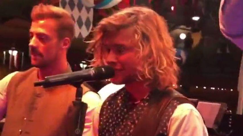 """Auf dem Oktoberfest: """"Love Island""""-Victor rockt die Bühne!"""