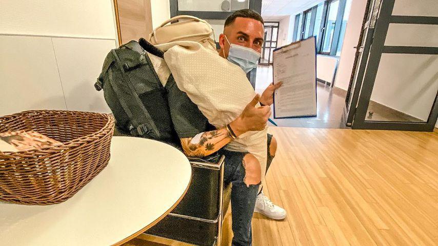 Tobias Wolf im Krankenhaus im August 2020