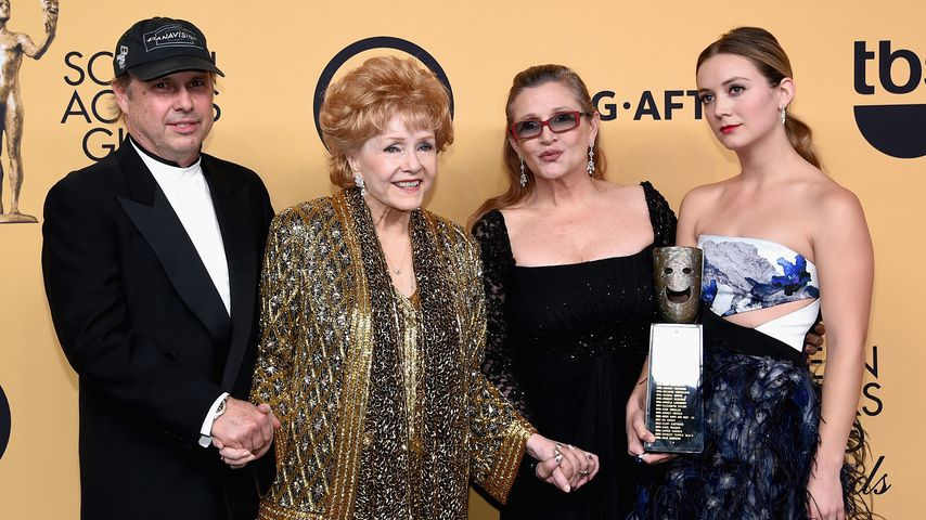 Mama & Schwester tot: Carrie Fishers Bruder trauert rührend