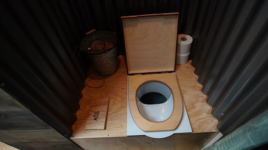 """Toilette im Tiny House bei """"Ich bin ein Star - Die große Dschungelshow"""""""