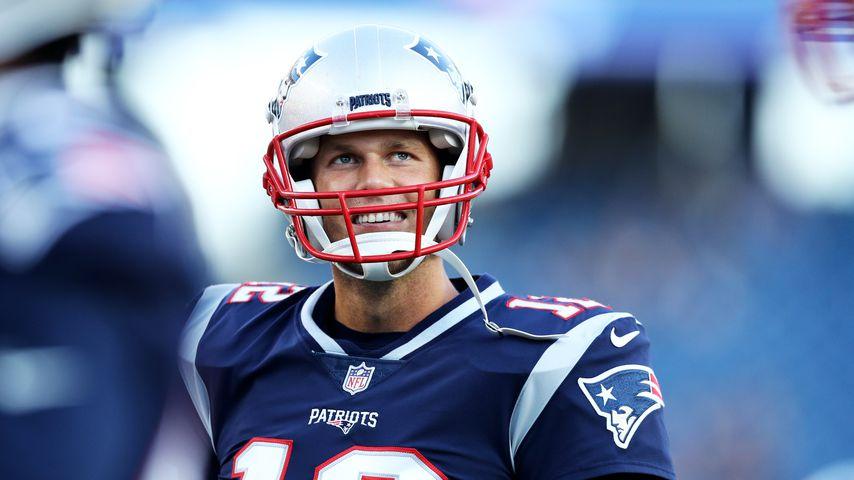 Tom Brady in Foxborough im August 2018