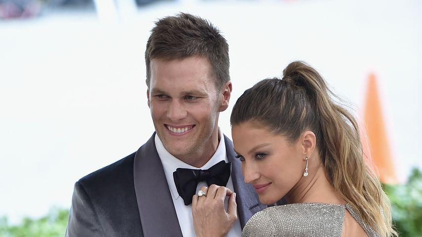 Tom Brady und Gisele Bündchen auf der Met Gala 2017
