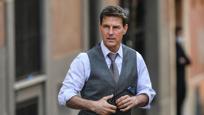 "Tom Cruise am Set von ""Mission Impossible : Lybra"""
