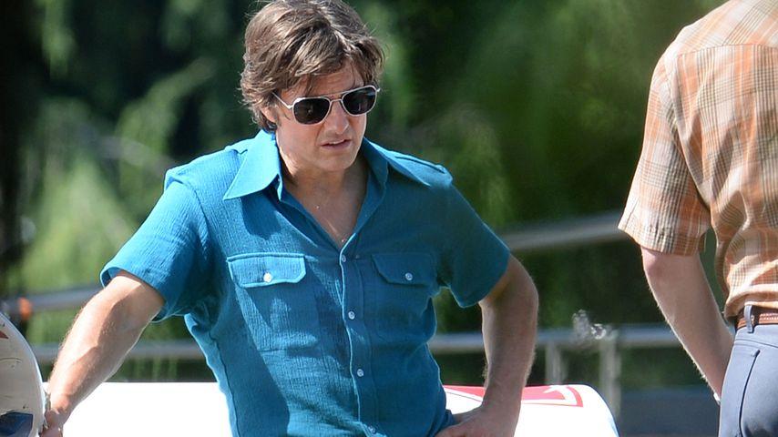Tom Cruise bei Dreharbeiten in Georgia