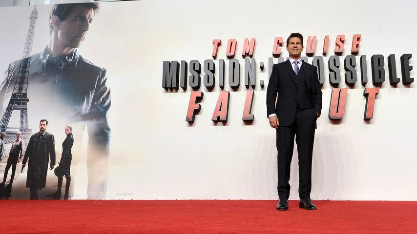 "Tom Cruise bei der Premiere von ""Mission: Impossible – Fallout"", 2018"