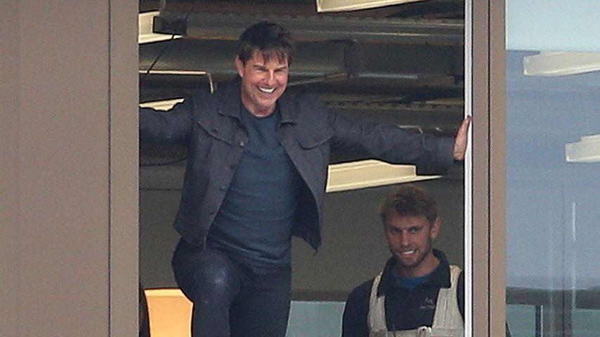 Nach doppeltem Knöchelbruch: Tom Cruise dreht wieder Stunts!